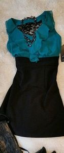 BCX Sleeveless Green & Dress NWT